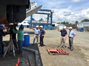 Congressman Bobby Scott Boatworks Tour