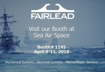 Fairlead Integrated announced today plans to exhibit their latest products and solutions at the upcoming Navy League Sea-Air-Space Exposition