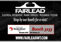 Fairlead at International WorkBoat Show