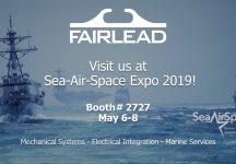 Fairlead Exhibits at Sea-Air-Space Expo 2019