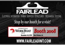 Fairlead Exhibits at International WorkBoat Show 2019